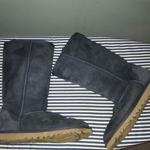 Navy Tall Ugg Boots